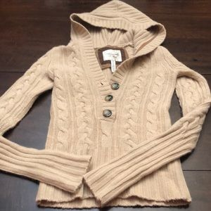 Abercrombie & Fitch hooded sweater. Size xs.